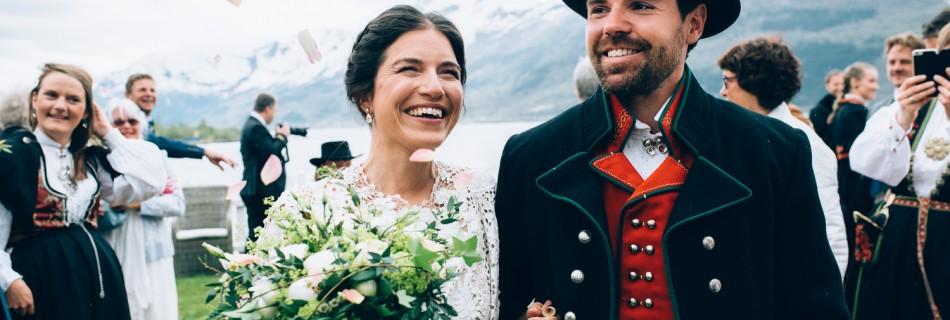 Brudeferden i Hardanger